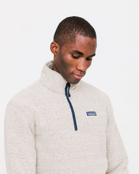 Patagonia Woolyester Fleece Pullover - Oatmeal Heather