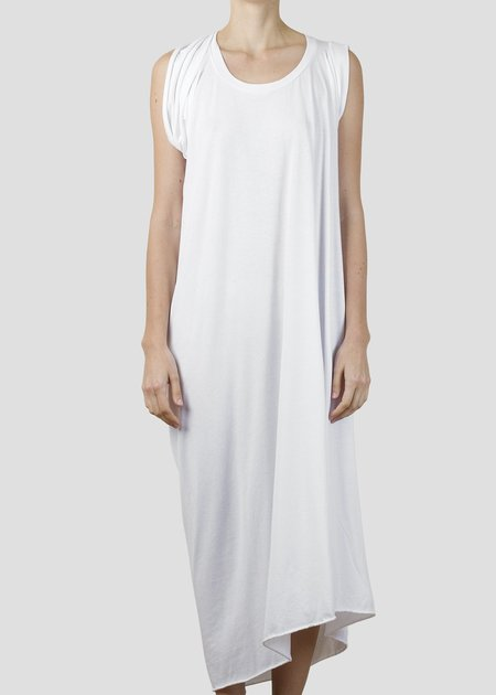 complexgeometries flame dress - white