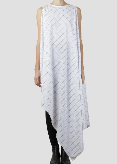 complexgeometries wisp tunic - white