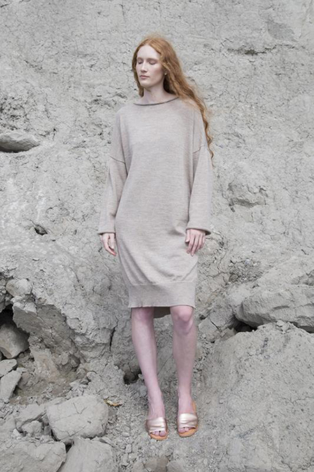 Fform Lounge Dress - Oatmeal