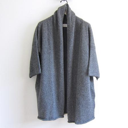Fform Shawl Collar Overcoat - Charcoal
