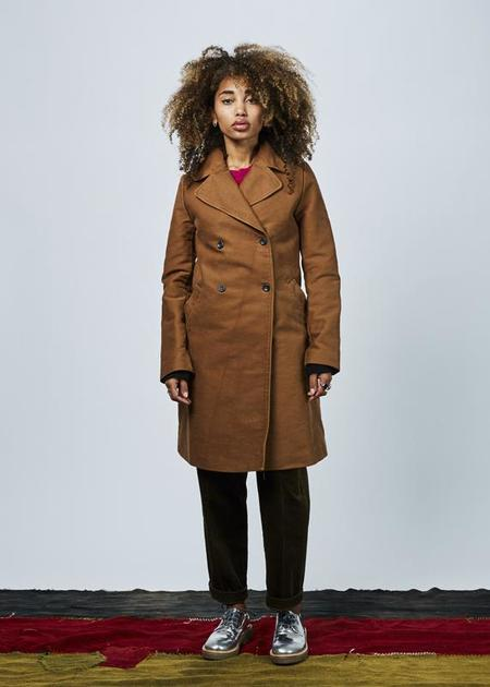 Hannes Roether Zeit Double-Breasted Coat - Penny