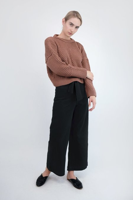 Micaela Greg Bevel Sweater - Copper