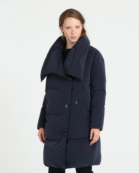 JOHN RICH & BROS Puffy Coat - Melton Blue