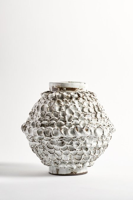 Bzippy & Co. Black Dot Large Vase
