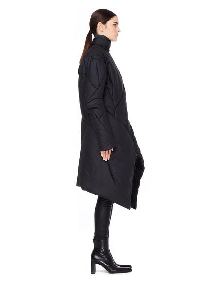 Leon Emanuel Blanck Distressed Down Jacket - Black
