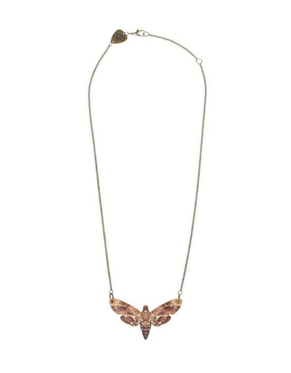 Tatty Devine Moth Necklace