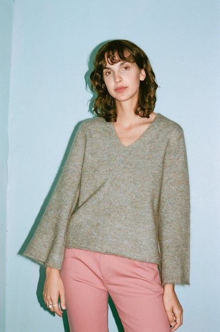 Hansel From Basel Lady Sweater - Seafoam