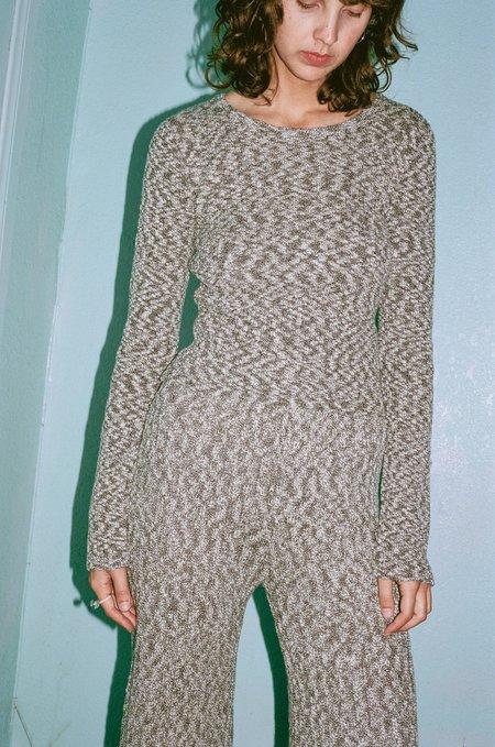 Pari Desai Dani Ribbed Sweater - Black/White