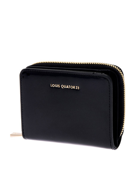 Louis Quatorze SL3TL72BL Bifold Wallet - Black