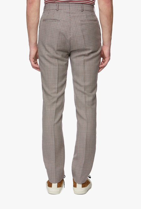 Band of Outsiders Retro Trousers - Houndstooth