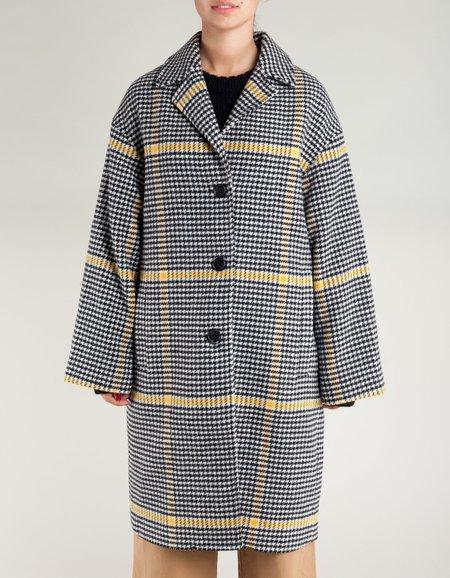 Tiger of Sweden Garland Check Coat -Pattern