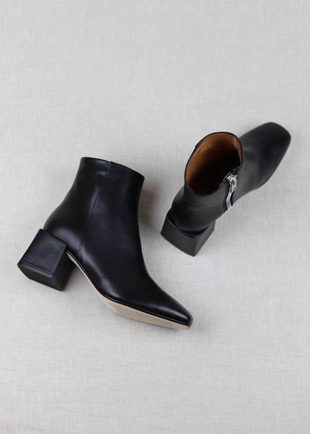 LOQ Lazaro Leather Boots - Negro