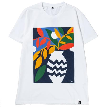 by Parra Still Life With Plant T-shirt - White
