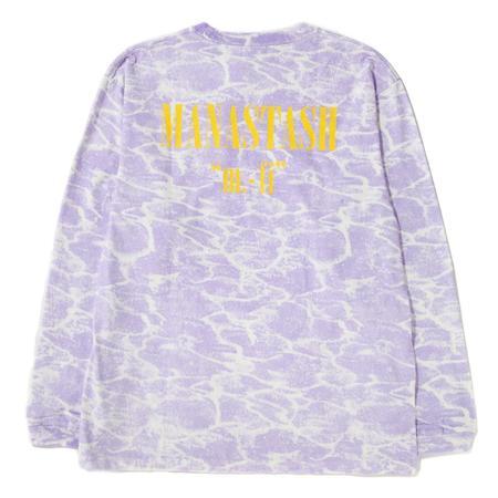Manastash Lithium Long Sleeve T-shirt - Lavender
