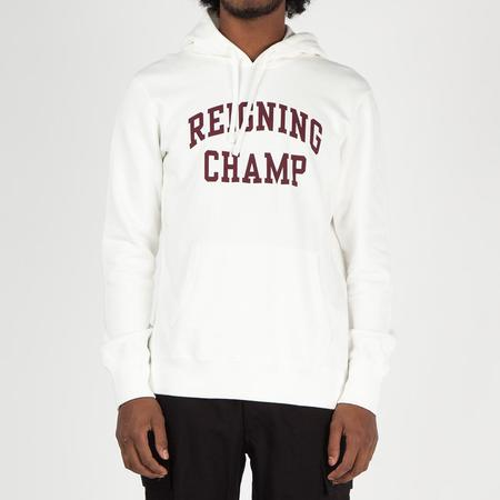 Reigning Champ Ivy League Pullover Hoodie - Winter White