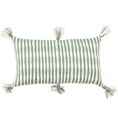 Archive New York Antigua Pillow - Dusty Green