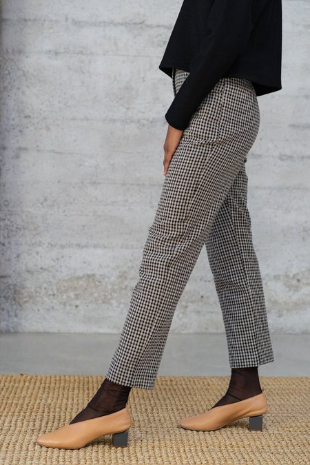 Waltz Cigarette Wool Trousers - Checked