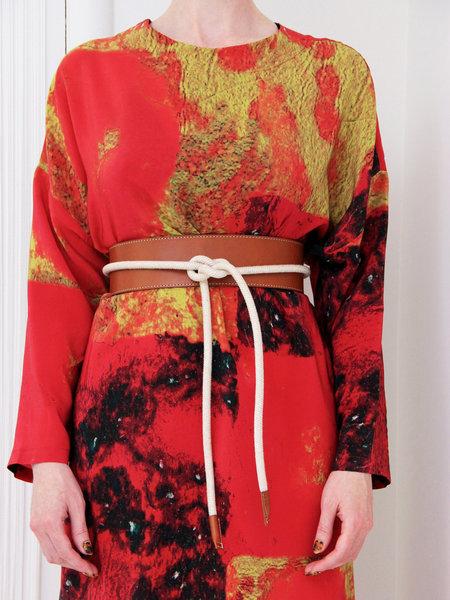 Muller of Yoshiokubo Leather Rope Belt