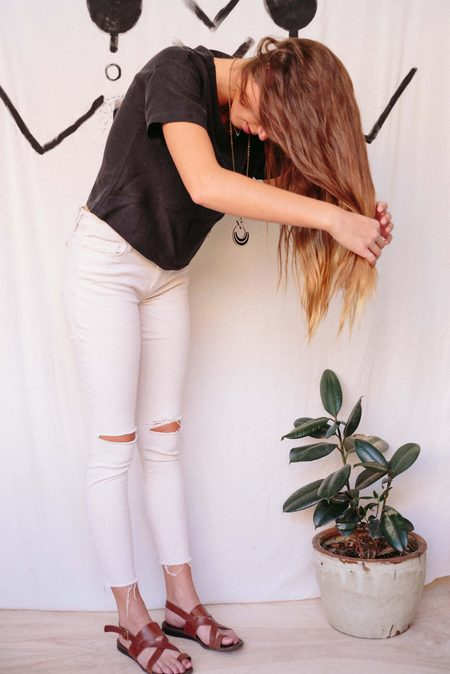 Eve Gravel My Lovely Pullover Top - Black