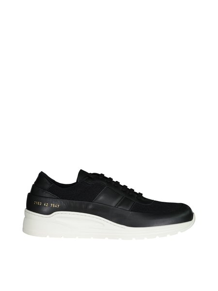 Common Projects Track Super Sneakers - Black