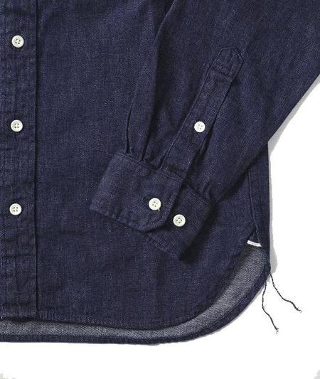 Japan Blue Selvedge Denim Button Up Shirt
