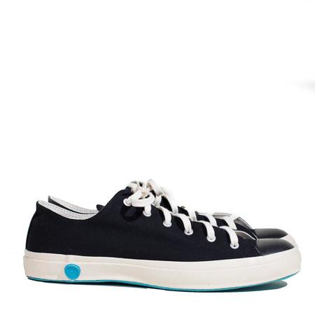 Shoes Like Pottery Low Top Canvas Sneaker - Black