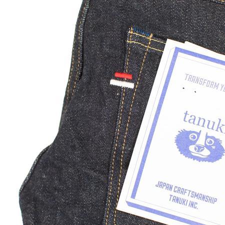 Tanuki NSXT Stretch Denim Tapered Jeans - Natural Indigo