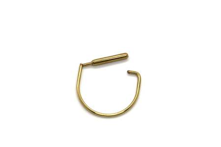 Formina Hinge Bracelet - brass