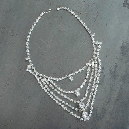 Carole Tanenbaum Vintage Collection 1950 Four Strand Necklace