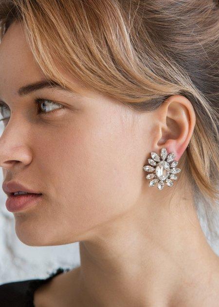 Carole Tanenbaum Vintage Collection 1950 Schreiner Button Earrings