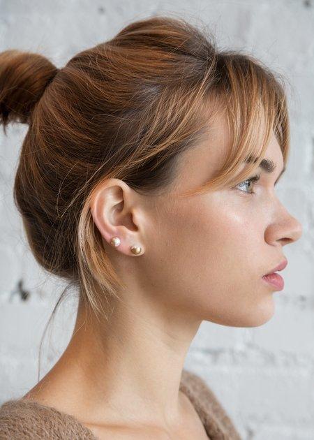 Shihara Half Pearl Earring 135°