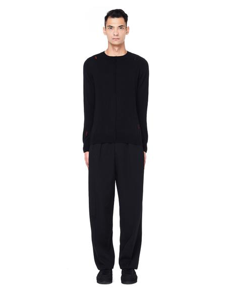 Yang Li Round Neck Wool Sweater