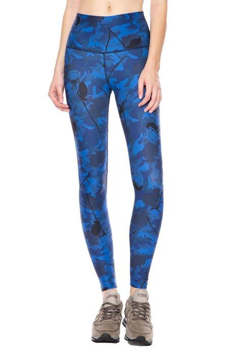 Wear It To Heart High Waist Leggings - Sapphire Camo