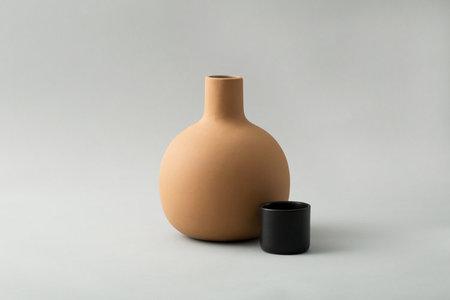 Lagos del Mundo Ceramic Bulb Carafe with Cup