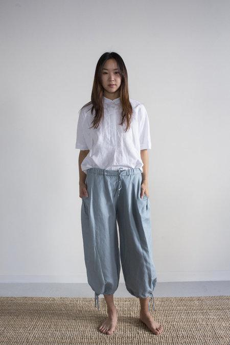 Hannayujin Insoo Linen Drawstring Pant