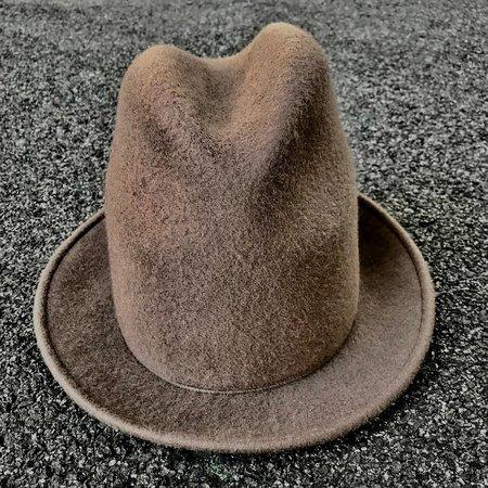 Esenshel YOKO TALL CROWN NARROW BRIM HAT