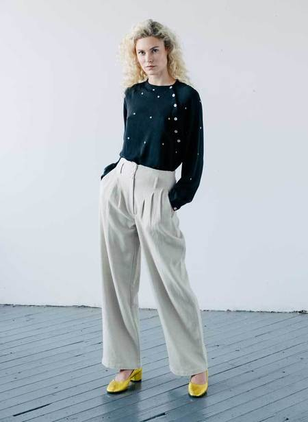 Seek Collective Tanah Pants - Ivory Twill