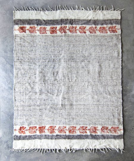 Valiente Goods Guatemalan Organic Wool Blanket - Grey Cayenne