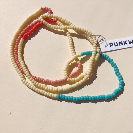 Punkwasp Neon Series Bead Necklaces