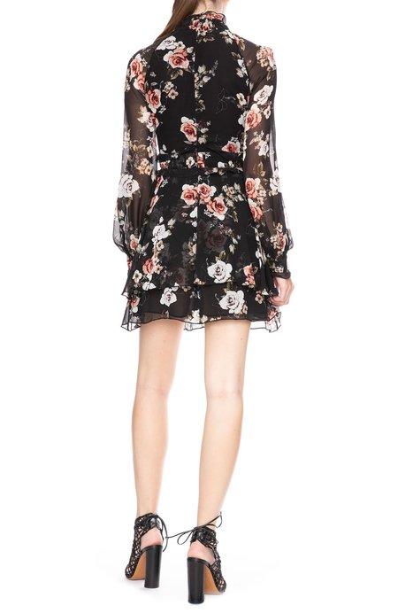 Nicholas High Neck Dress - Floral
