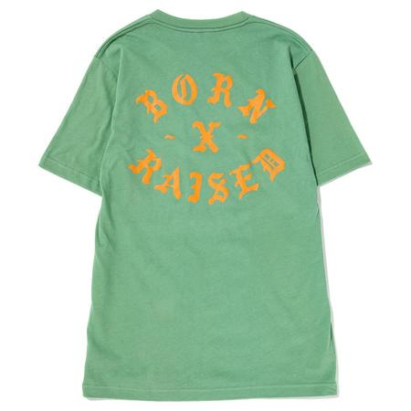 Born x Raised Rocker T-shirt - Jade