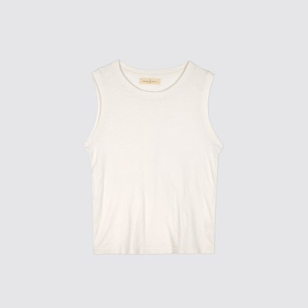 Imogene + Willie Classic Muscle Tee - White