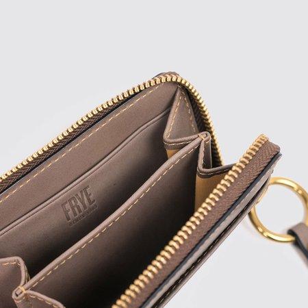 Frye Ilana Harness Small Zip Wallet - Grey