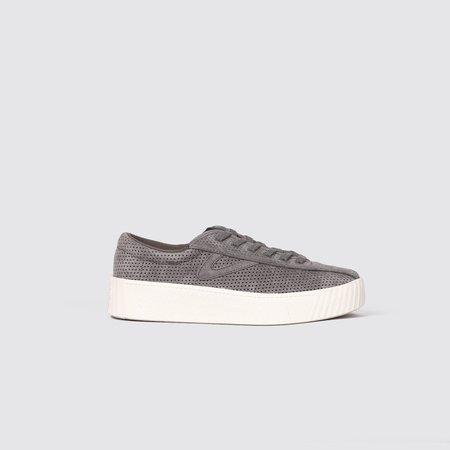 Tretorn Nylite Bold Suede Sneakers - Graphite