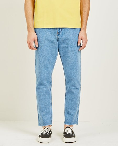 SECOND/LAYER 5 POCKET RAW HEM DENIM