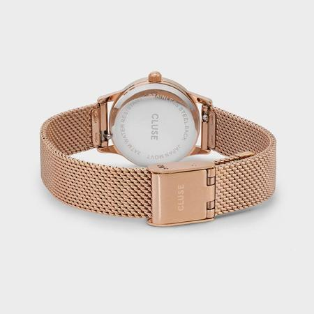 CLUSE LA VEDETTE MESH CL50006 WATCH - ROSE GOLD/WHITE