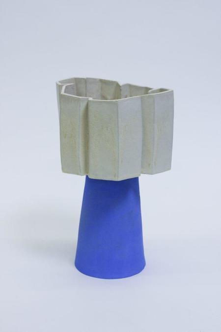 Bzippy & Co. Tall Scallop Vase