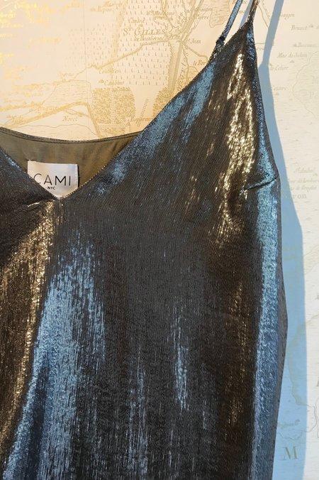 Cami NYC Olivia Lame Cami - Metallic