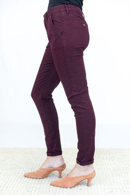 Reiko Chino Trousers - Lie De Vin